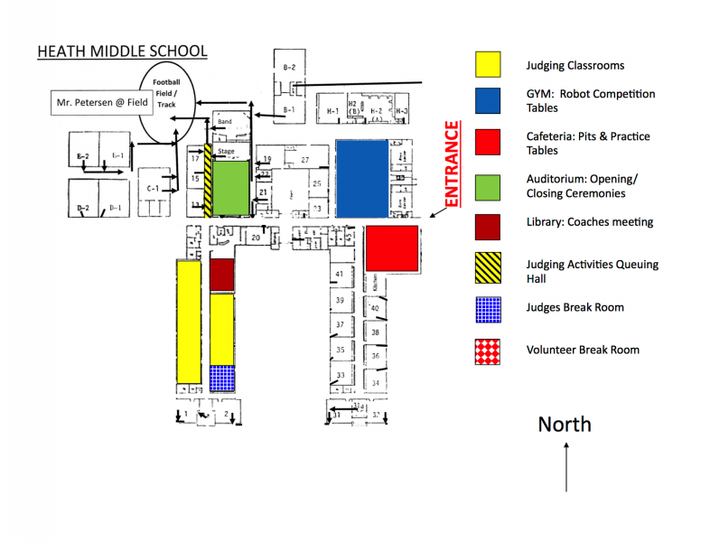 Heath MS - FLL Floorplan